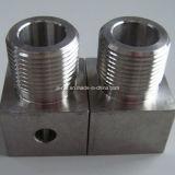 鋼鉄CNCの精密によって機械で造られる部品