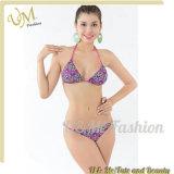 Heiße reizvolle Häkelarbeit-Badebekleidungbandeau-Bikini-Frauen-Badeanzüge drücken Beachwear hoch