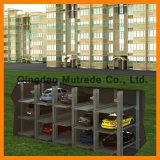 Système automatique vertical de stationnement de puzzle de niveaux du système 2 de levage de stationnement de véhicule de glissière de levage de Psh