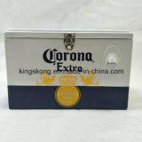 Koelere Doos van de Corona van het Bier van het metaal de Openlucht
