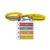 Laisse r3fléchissante de crabot de couleur avec les colliers Dp-Cp1257