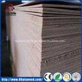 madera contrachapada comercial de 4X8 4m m Okoume/Bintangor para Suriname