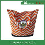 Zippered Strandtote-Beutel des Polyester-600d