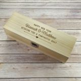 Personalizzare il contenitore di legno di vino rosso con il prezzo più poco costoso