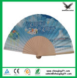 Artisanat de papier promotionnel Hand Fan Use Greek Party Decorations