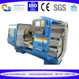 Tubulação máxima do CNC do diâmetro 350mm do Workpiece Qk1335 que rosqueia a máquina