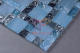 Het gebarsten Blauwe Mozaïek van het Kristal (CC186)