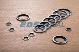 Metal Dowty/Usit-Ring Bonded Seals에 NBR FKM Viton Rubber