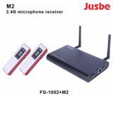 M2 Le récepteur de microphone du système audio professionnel pour l'enseignement