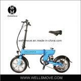Wellsmove 14インチのFoldable E自転車250W 30-50kms