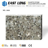 Artificial Granite Color Quartz Stone for Engineered Stone Slabs with Solid Surface