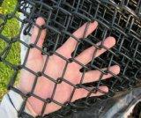 6foot 롤에 있는 비닐에 의하여 입히는 체인 연결 검술하거나 사슬 철망사