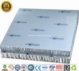 Ral9016 en forma de panal de aluminio con recubrimiento PVDF paneles paneles decorativos de pared exterior