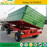 Tipo europeu de 2 rodas de 3 a 5 toneladas de Reboque de dumping de Tratores Agrícolas