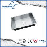33-in Handmade Single Bowl dissipador de aço inoxidável de 16 ga (ACS3319A1)