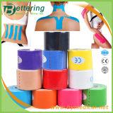 면 탄력 있는 운동 요법 물리 치료 근육 Kinesio 테이프