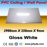 Witte MiddenDecoratie 5/6/7/8mm van het Plafond van het Comité van pvc van de Groef Dikte