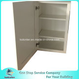 米国式の食器棚の白いシェーカーW2130