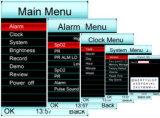 Ossimetro di frequenza del polso di Meditech con l'audio ed allarme visivo permutabile