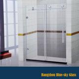 Salle de douche en verre trempé clair à bas prix