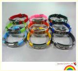 Identifikation-Armbänder mit Wölbung und Verschluss (XXT 10015-10)