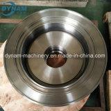 CNCの機械化の合金鋼鉄鍛造材の部品を機械で造る精密