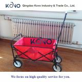 Wagon Utility Cart Folding Portable Kids Criança Grande Blue Wheeled Outdoor Toy