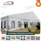 Tenda foranea della chiesa delle 3000 genti con il sistema di CA per il centro della chiesa