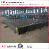 El tubo de cuerpos huecos negros para la estructura de construcción con alta calidad