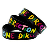 Wristbands su ordinazione Colourful del silicone di modo