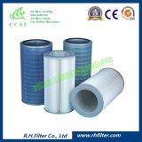 Poliéster Ccaf plisado cartucho de filtro de aire