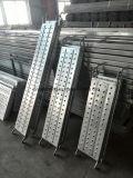 Los andamios tablones andamios, camina junta, Plancha de acero galvanizado