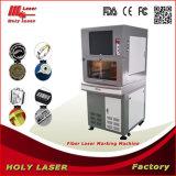 Máquina portátil de marcação a laser de fibra para impressão de cor em aço