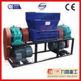 Triturador de eixo duplo de madeira de pneus de borracha de plástico de trituração electrónica