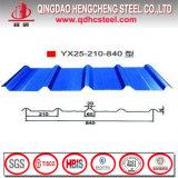 Colorer la feuille trapézoïdale enduite pour la tuile de toiture