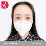 Hot Sale 5 ply KN95 Disposable Respiratory Face Mask CE Ceffiated
