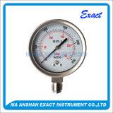 Edelstahl-Manometer-Niedriges Manometer Manometer-Mbar