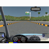 Simulateur de conduite de voiture portable de haute qualité 2017