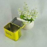 Metallzinn-Kasten-Quadrat für Plätzchen-Verpackung