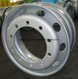 borde 22.5X9.75/rueda de acero sin tubo para TBR