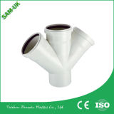 PVC que reduz o acoplamento com fonte de água
