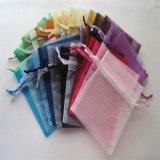 Geschenk-Schmucksache-Sonnenbrille-Süßigkeit-Organza-Zeichnungs-Zeichenkette-Beutel für Förderung