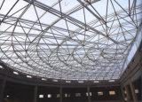 三角形の鉄骨構造スペースフレーム