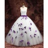 より多くのモデル蝶人魚の球ガウンのウェディングドレス(夢100085)のためのクリック