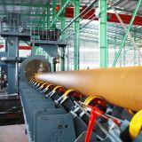 Type de tuyaux en acier roue Qgw dynamitage Machine Machine/grenaillage