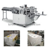 Semi-automatique de rouleau de papier toilette Double-Layer Multi-Roll Machine d'emballage