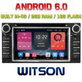 Witson Quad-Core Lecteur DVD pour voiture Android 6.0 pour Toyota Corolla / RAV4 2g RAM Bulit en ROM 4G 16 Go