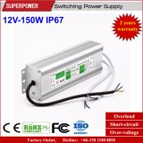 Alimentazione elettrica impermeabile costante di commutazione di tensione 12V 150W LED IP67