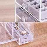 Présentoir acrylique de bijou avec 5 tiroirs