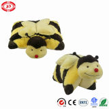 Beige Cute Sheep Soft Fluffy Qualité Peluche Farcis Oreiller Farci